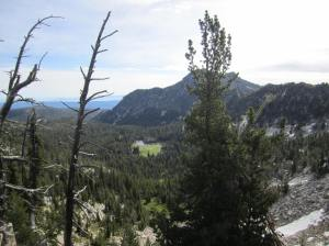 View from Angel pass